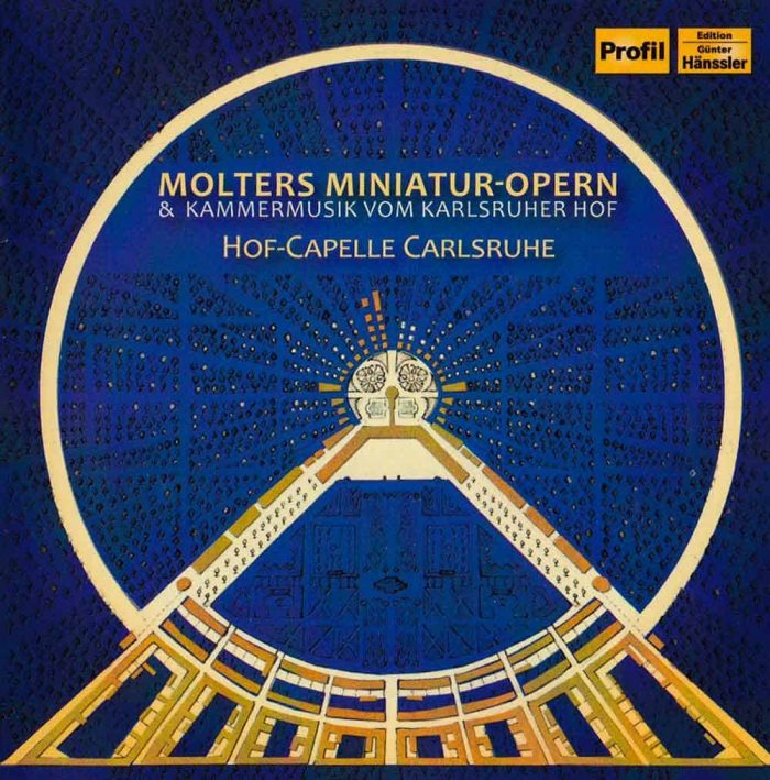 Cover der CD Molters Miniatur-Opern