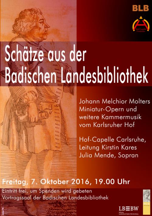 Plakat Hofmusik 7.10.2016